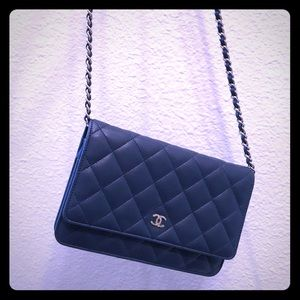 Preowned Authentic Chanel WOC